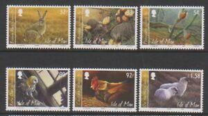 Isle-of-Man-2009-Country-File-set-MNH-SG-1535-40