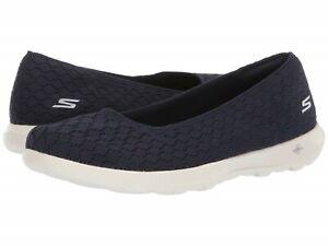 Women Skechers Go Walk Lite Shoe Slip