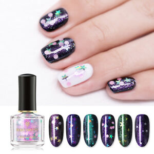 BORN-PRETTY-6ml-Nagellack-Holographisch-Sequins-Nail-Polish-Opal-Star-Varnish