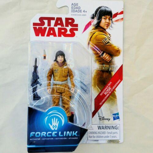 Luke R2-D2 Yoda Obi Wan C-3PO Star Wars Force Link 3.75-Inch Action Figures