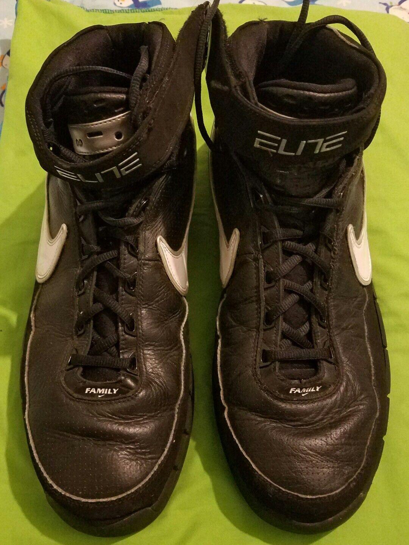 Nike Elite High Top Basketball shoes Running Hiking  Sz 14