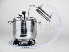 7 liter Stainless Steel  Pressure Cooker & Distiller Alcohol Moonshine