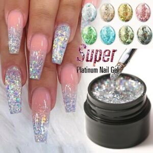 Nail Art Glitter Powder Dust UV Gel