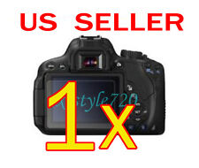 1x Canon EOS 650D Rebel T4i Clear LCD Screen Protector Guard Shield Film
