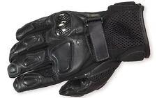 "SPYKE ""G-Fresh Air"" Motorcycle Touring Gloves - Short - Black - XXL 2XL"