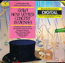 Gala New Year's Concert In Vienna Lorin Maazel DG2532 002 LP PROMO SEALED