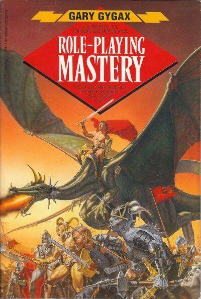 Gary Gygax Juegos de Rol Mastery Puntas Trucos y Estrategias 2ND Imprimir 1989