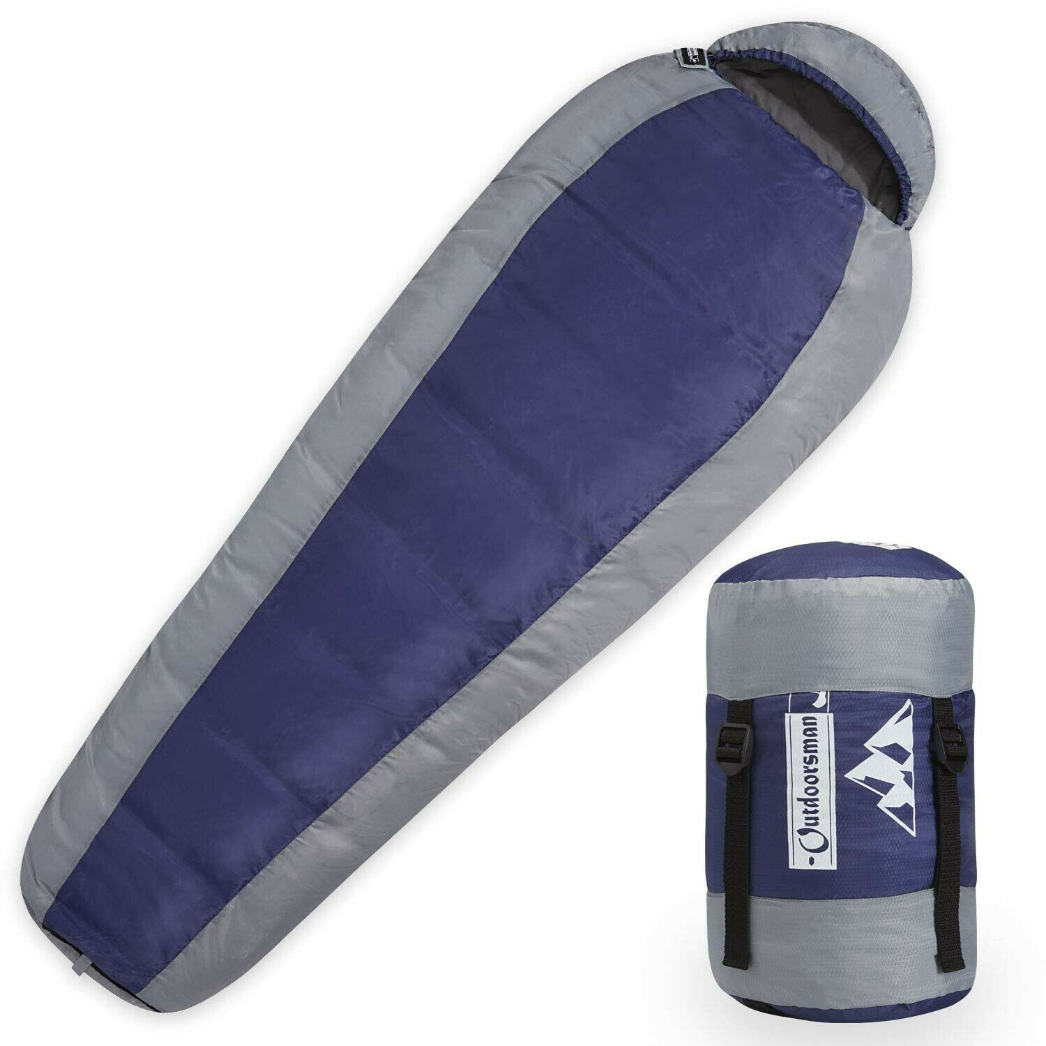 Outdoorsman Lab Camping Accessories – 87  x 32   x 22  Mummy Sleeping Bag with...  more affordable