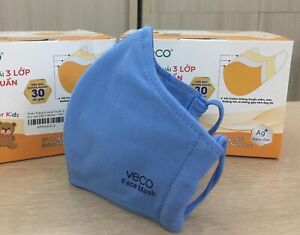 VECO-Antimicrobial-Reusable-Washable-Cotton-Fabric-Face-Mask-Kid-Blue