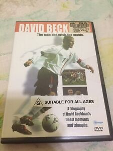 New David Beckham The Man The Myth The Magic DVD