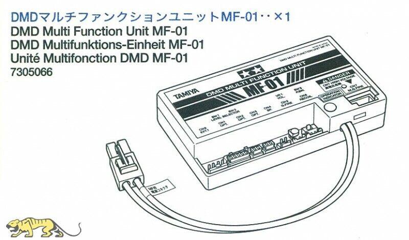 DMD multifunción unidad mf-01 Tamiya 7305066