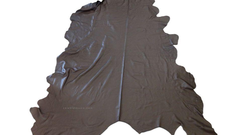 Brazilian Cowhide leather rug rug rug Huge Smooth Leather rug 8' X 8' b49259