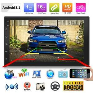 Doppel-2Din-Android-8-1-7-034-Quad-Core-Auto-Stereo-MP5-GPS-FM-Radio-WiFi-BT