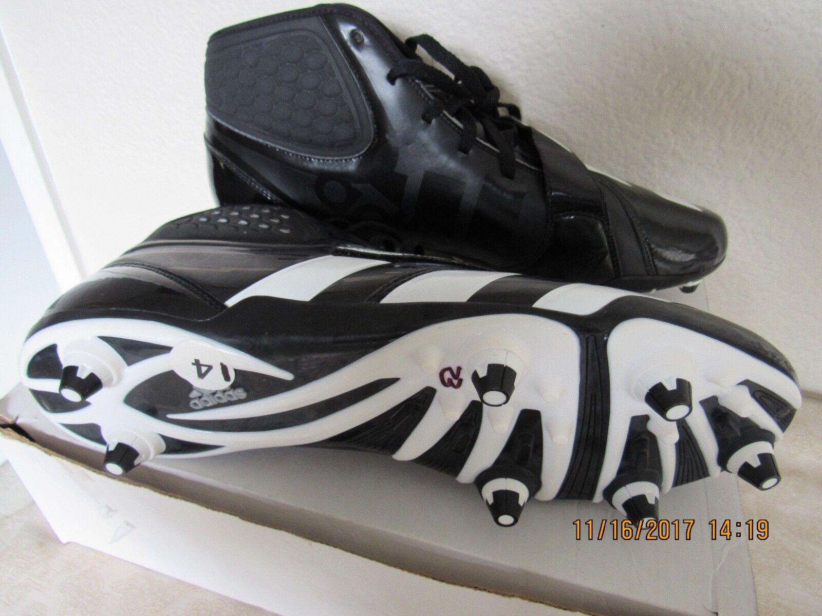 adidas # g23623 bosheit d abnehmbare - schwarz - weiße abnehmbare d fußball stollen sz 14 neue c7ba19