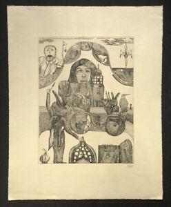PIT-Morell-saluto-dei-conigli-acquaforte-1967-firmato-a-mano