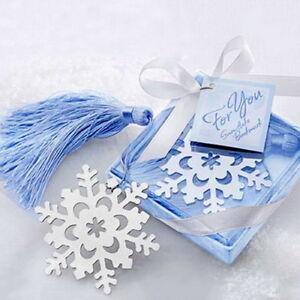 Buch Geschenk Weihnachten.Details Zu Lesezeichen Schneeflocke Buch Geschenk Weihnachten Bookmark Snowflake Gift