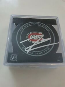 Jesperi-Kotkaniemi-Signed-Autographed-Montreal-Canadiens-Official-Game-Puck