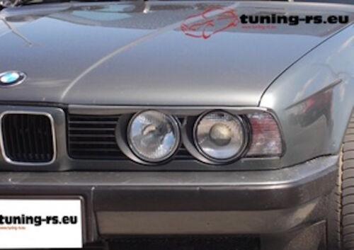 SCHEINWERFERBLENDEN BÖSER BLICK PASSEND FÜR BMW E34 ABS tuning-rs.eu