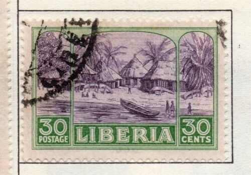 Liberia 1921 Early Issue Fine Used 30c. 164120