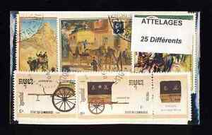 Attelage-Coupling-25-timbres-differents-obliteres