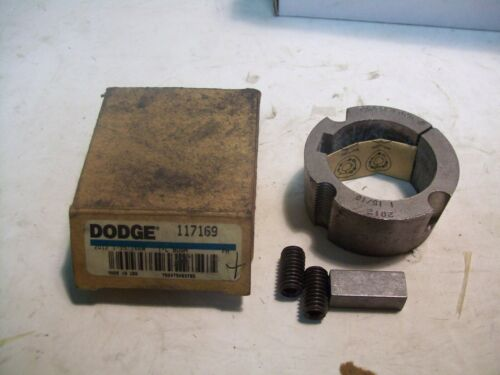 "NEW BALDOR DODGE 117169 TAPER LOCK BUSHING W//HARDWARE 1-15//16/"" BORE P5254"