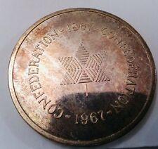 Canada 1967 Confederation Coin in original box - Original sterling silver Coin!!
