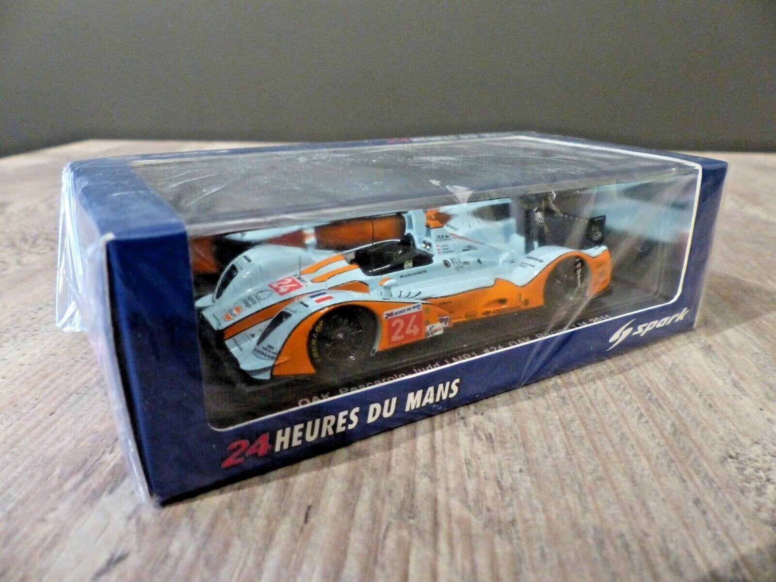 Spark e S2524 OAK Pescarolo-Judd  24 OAK Racing LeMans 2011