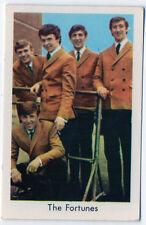 1960s Swedish Pop Star Card UK Birmingham Harmony Beat Group The Fortunes