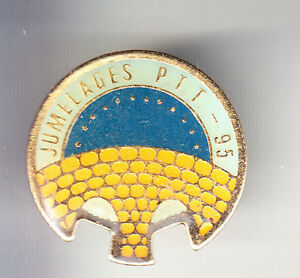 RARE-PINS-PIN-039-S-PTT-LA-POSTE-FRANCE-TELECOM-PONT-BRIDGE-JUMELAGES-95-BT