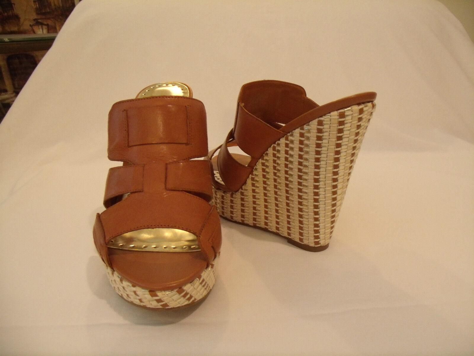 prezzi bassi BCBG  Gail  (N.W.B.) 5  Wedge Heel Heel Heel Slide Mule•Leather Upper•Sz 8M NWB.  al prezzo più basso