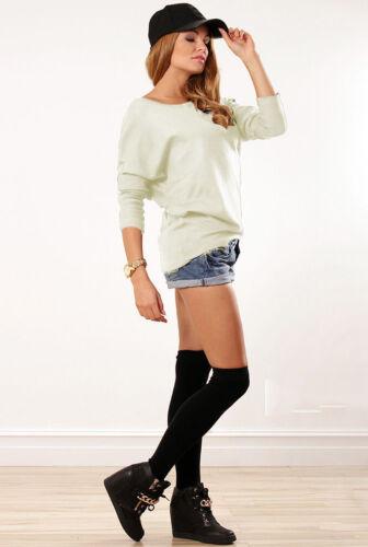 Bluse Top Shirt Hüftlang Langarm Longshirt Longbluse S M L  XXL 36 38 40  44