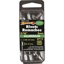 Arrow Fastener RSA3/16 18 Count 3/16-Inch Short Aluminum Rivets