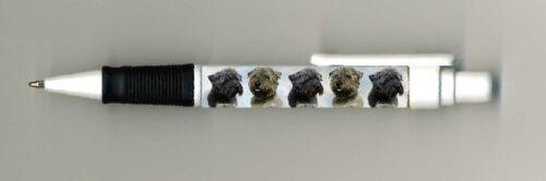 Glen of Imaal Terrier Dog Design Retractable Acrylic Ball Pen by paws2print
