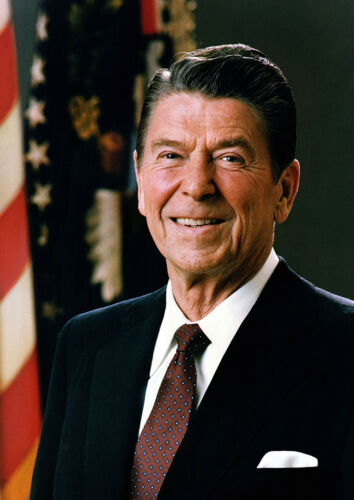 Print//Poster President Ronald Reagan Official White House Portrait d4900