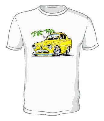 Kurbside Kustoms F100 Pickup Truck Hot Rod 100/% Preshrunk Cotton T-shirt BH-18