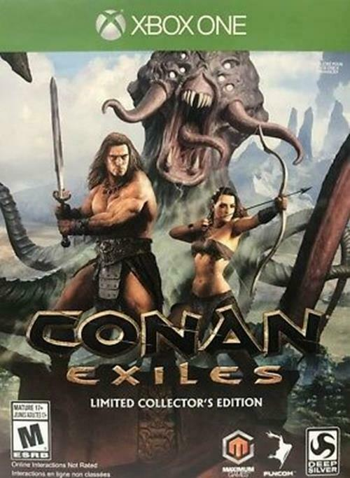 Conan Exiles - Limited Collector's Edition - Xbox One [Funcom Adventure MMO] NEW