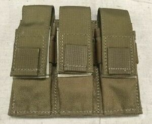 Specter-Gear-Triple-Universal-Pistol-Magazine-Pouch-NEW-Coyote-Tan-MOLLE