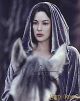 LIV TYLER as Arwen - The Lord Of The Rings GENUINE AUTOGRAPH UACC (R11685)