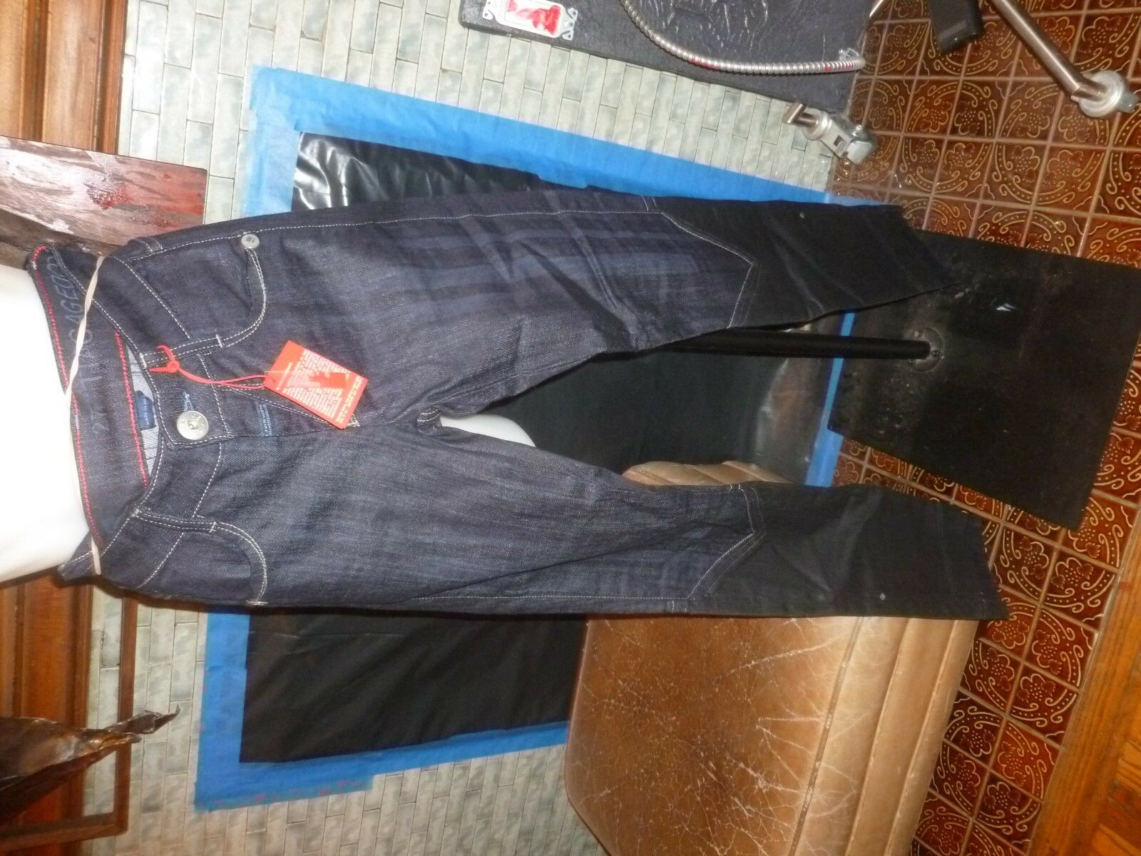 Marithe Francois Girbaud Womens size 27 jeans. NOS with tags.