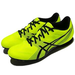 Asics-Hyper-MD-6-Safety-Yellow-Black-Men-Running-Shoes-Sneakers-G502Y-0790