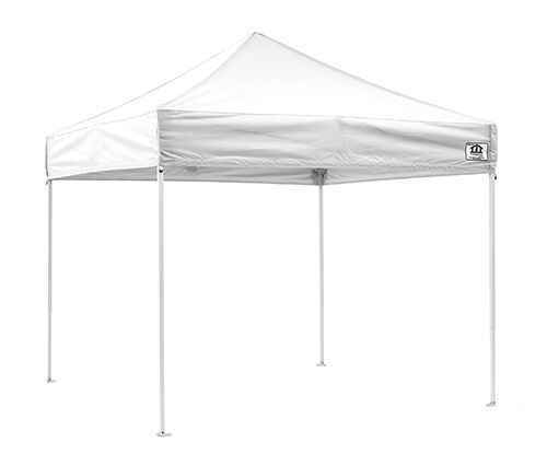 10x10 Ez Pop Up Canopy Tent Instant Shelter Beach Gazebo Party Shade White Ebay