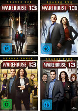 14 DVDs * WAREHOUSE 13 ~ STAFFEL /  SEASON 1 - 4 IM SET # NEU OVP +