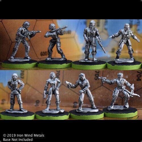 House Troopers Pilot Commando Miniatures Battletech BT-455 Liao MechWarriors