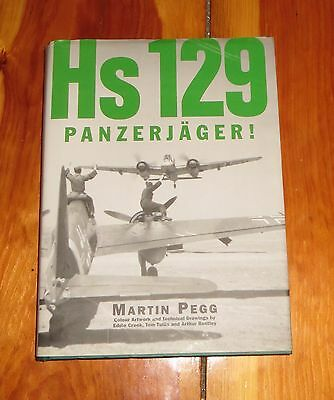 Hs 129 Panzerjager! by Martin Pegg  hardcover coffee table book VG