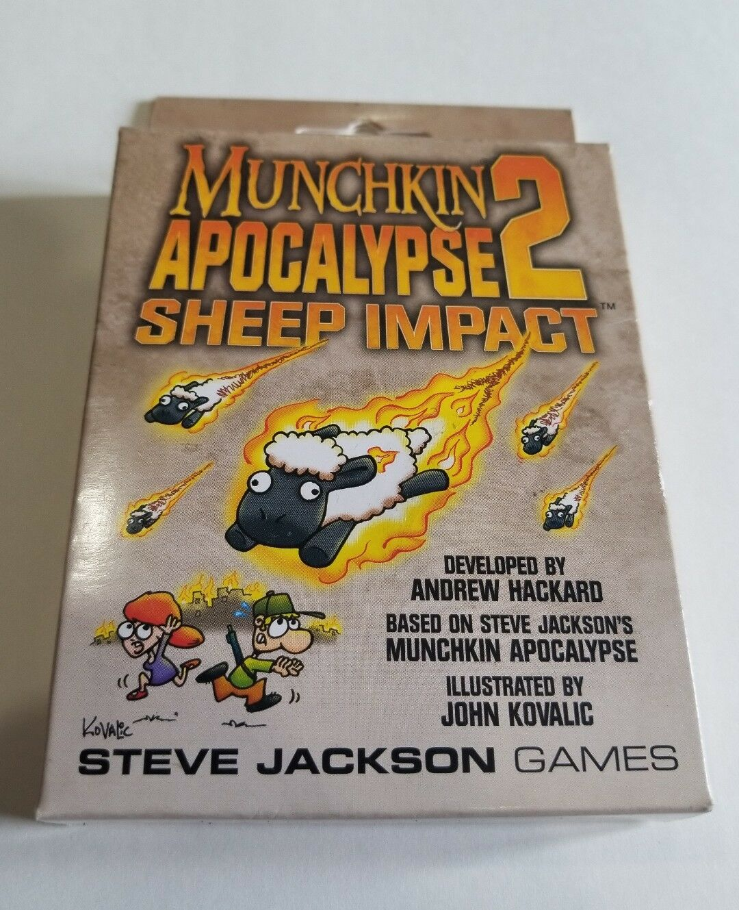 Munchkin Apocalypse 2 Sheep Impact Card Game Expansion From Steve Jackson Games