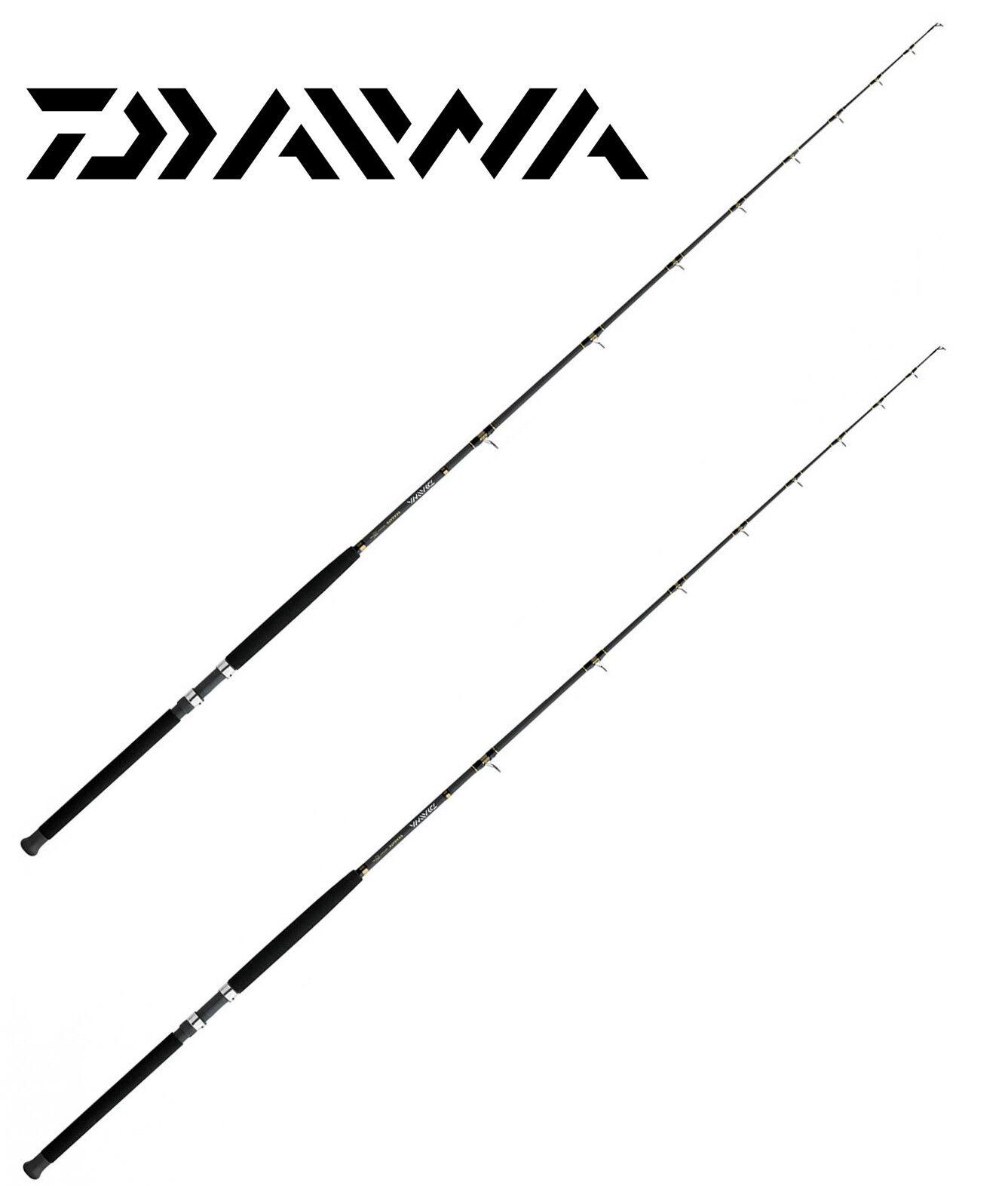 KP3638 Daiwa kit 2 Canna pesca Traina Daiwa Sealine 15 - 40 Lb super promo PPG