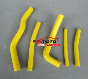 ORANGE Silicone radiator hose for Suzuki RM125 RM 125 1996-2000