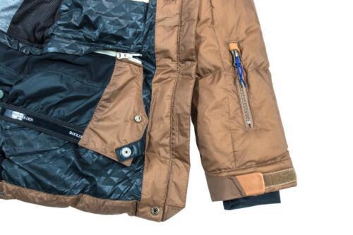 HOLDEN Carter WATERPROOF Faux DOWN Insulated SNOWBOARD Ski JACKET Coat WOMENS sz