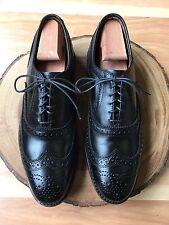 Allen Edmonds 'McAllister' Classic Wingtip Oxford Black Size 9 E $395 *