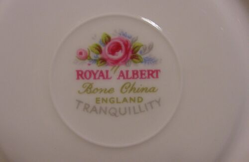 "Royal Albert Tranquility 8/"" Lunch or Salad Plate Made in England"